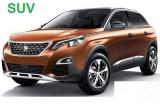 Peugeot 3008 a/c 5 door 5 passenger manual SUV or Similar Group M