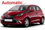 Toyota Aygo a/c 5 door  4 passenger Automatic or Similar Group N